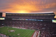 And on the seventh day God created the SEC, and it was good.... Bryant-Denny