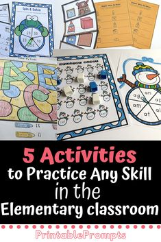 5 classroom games and activities for the elementary classroom