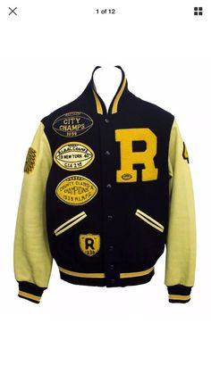 RUGBY RALPH LAUREN  Varsity Patch Football Jacket Extremely Rare S Fits Like M  | eBay