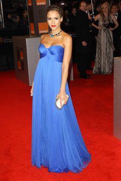 + Carolina Estilo +: Los mejores looks de Jessica Alba embarazada en la alfombra roja