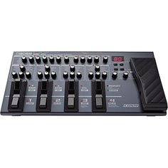 Something that music lovers shouldn't be without and that's boss me 80 check it out at GuitarCenter http://www.guitarcenter.com/Boss/ME-80-Guitar-Multi-Effects-Pedal-1389195608656.gc