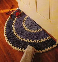 1000 Images About Tapetes On Pinterest Tejido Crochet