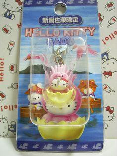 GOTOCHI Hello Kitty Sado, NIIGATA Japan Limited Mascot Charm Sanrio 2003