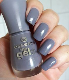 essence the gel nail polish, Farbe: 87 gossip girl - Pinkmelon Diy Nail Designs, Nail Polish Designs, Nail Polish Colors, Nail Polishes, Nails Design, Gossip Girl, Hair And Nails, My Nails, Beauty Makeup