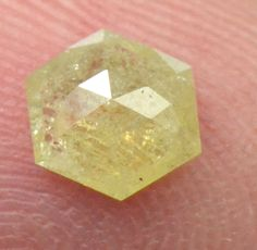 #shangrilagems #yellow hexagon #diamond #yellowdiamond - available from us