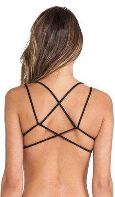 Braided bikini top