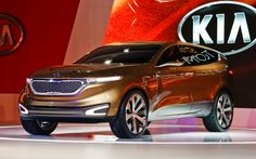Kia Cross GT Concept Crossover First Look - 2013 Chicago Auto Show - Motor Trend