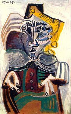 Homme au Fauteuil 1, 1969 © Pablo Picasso