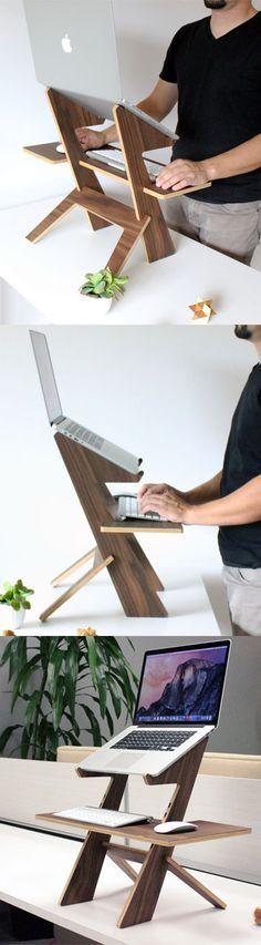 1613053 양지희: 앉아서 컴퓨터를 보다보면 허리도 아프고 고개를 내려다 봐야해서 목도 아픈데 그 점을 고려한 디자인 같습니다.
