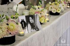 1. Mad Men's Wedding,Table decor,Table number / Wesele w stylu Mad Men,Dekoracja stołów,Numery stołów,Anioły Przyjęć