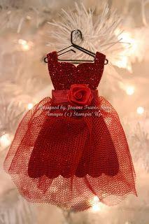 Dress Up framelit ornament