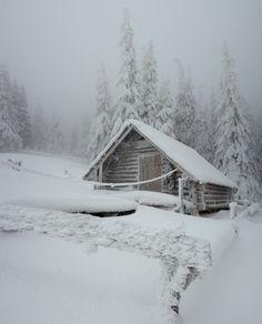Log Cabin, frosted! Winter Szenen, Winter Cabin, Winter Love, Winter Christmas, Merry Christmas, Cabin Christmas, Snow Cabin, Cozy Cabin, Snow And Ice