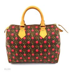 The Louis Vuitton Cherry Speedy 25 Integrates Fashionably into Every Situation
