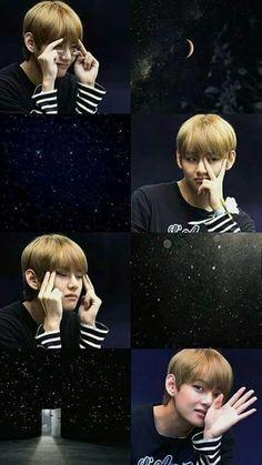 #v #taehyung  cuteee ^-^