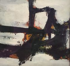 Orange Outline Artist: Franz Kline Completion Date: 1955 Place of Creation: United States Style: Action painting Genre: abstract Franz Kline, Tachisme, Willem De Kooning, Action Painting, Monochrom, Claude Monet, Robert Motherwell, Art Museum, Contemporary Art