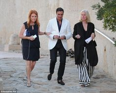 Royal appearance: Fergie jetted into France in the midst of her busy schedule and charity work