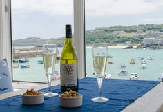 Sleeping 2 Harbour House is a fantastic cottage in The Wharf. Ideally located to get the best out of a holiday in Cornwall Cornwall Cottages, West Cornwall, Holidays In Cornwall, Harbor House, St Ives, White Wine, Boutique, Luxury, Glass
