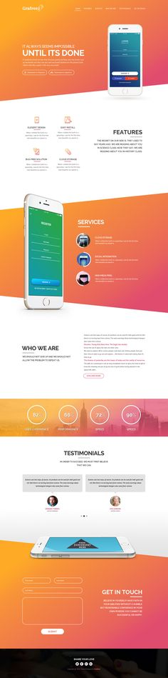 Akira is free PSD template built with Photoshop.It can be used create elegant and professional landing pages for showcasing your mobile apps. This template keeps clean and modern look.You can use this free template for your personal projects or for inspir…