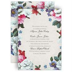 Floral Dream Invitation