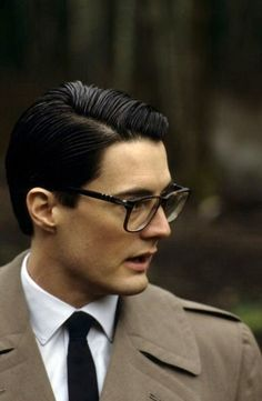 Kyle MacLachlan as Special Agent Dale Cooper in 'Twin Peaks'