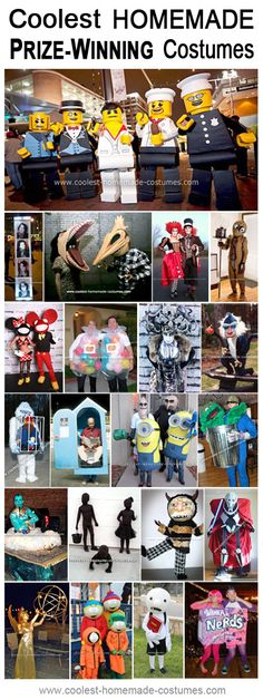 Prize Winning Halloween Costumes - Coolest Homemade Costume Contest