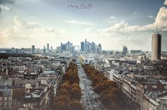 Modern Paris View by Piroshki-Photography on deviantART