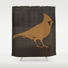 Cardinal Shower Curtain by Plume - $68.00
