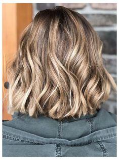 Ash Brown Hair Balayage, Blonde Highlights Short Hair, Brown Hair With Highlights, Brown Blonde Hair, Blonde Ombre, Brunette Hair, Dark Hair, Short Light Brown Hair, Light Hair