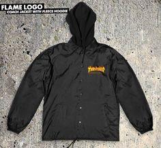 Thrasher Thrasher Flame Logo Coaches Jacket