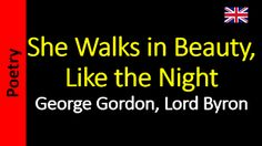 Áudio Livro - Sanderlei: George Gordon, Lord Byron - She Walks in Beauty, L...