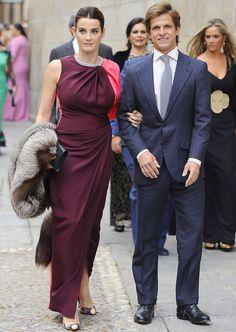 Rosario Domecq. Vestido drapeado