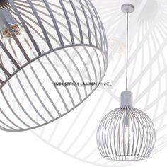 Betonlook grijze draadlamp Terme Ø 38 cm