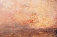Turner -  Wolken en Water, mooie late Turner in museum de Fundatie Zwolle