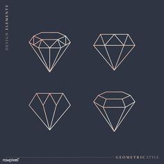 Diamond Drawing, Diamond Art, Diamond Design, Diamond Shapes, Diamond Vector, Diamond Rings, Diamante Logo, Diamond Illustration, Diamond Graphic
