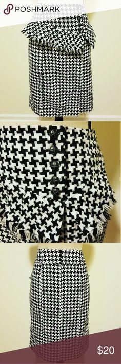 Spotted while shopping on Poshmark: Cato Black and White Highwaisted Skirt! #poshmark #fashion #shopping #style #Cato #Dresses & Skirts