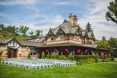 Gorgeous lawn wedding location at Bow Valley Ranche Restaurant. By Calgary wedding photographers Anna Michalska Photography Calgary Wedding Venues, Outdoor Wedding Venues, Wedding Locations, Restaurant Wedding, Nontraditional Wedding, Wedding Portraits, Landscape Design, Lawn, Photographers
