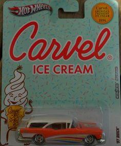 HOT WHEELS CARVEL ICE CREAM '57 BUICK FREE SHIPPING!!