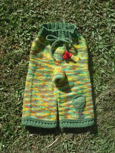 Looking Glass Longies pattern from Knit So Quaint #clothdiapering #knitting