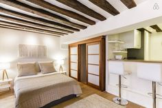 GOOD OPTION...New lovely stay in St Germain. (1 bed + sofa bed, AC) $167/night