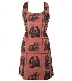 Interesting print dress