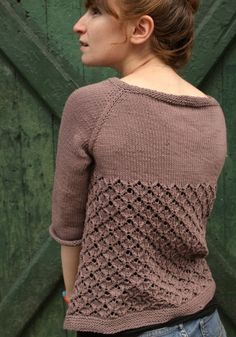 Poolside Test Knit by knityorkcity | Project | Knitting / Shirts, Tanks, & Tops | Cardigans & Sweaters | Kollabora