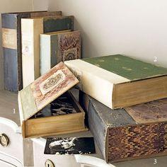 Vintage Style Box Files - $31