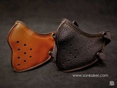 Slim leather mask: **Motorcycle mask SANKAKEL x [4h10](http://4h10.com/2014/05/slim-leather-mask-by-4h10-edition-limitee/)** Paris    Wear it under your helmet to protect yo...