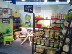 This was our House of York display at Johannesburg's Homemaker's Expo these past 3 days. House Of York, In This House We, Ladder Bookcase, Homemaking, Household, Laundry, Display, Kitchen, Creativity