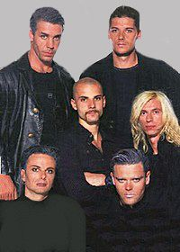 Lol rammstein pinterest trent reznor metalhead and music tv rammstein oh god remember when they looked like this m4hsunfo