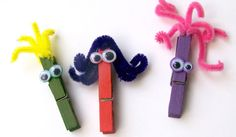 Clothespin crafts for the clothespin snack idea