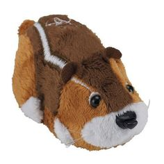 """Here we have an authenticZhu Zhu Pets Wild Bunch Hamsters 'Nutters"""" 7.16 chipmunk toy with the model number012W. Zhu Universe Zhu Zhu Pets: Nutters Toy Chipmunk. Nutters prides himself on being a funny hamster, and he is always planning some kind of silly joke to pull! 