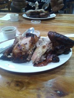 Half roasted chicken by recipetrekker.com