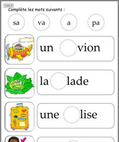 Écrire French Language Lessons, French Language Learning, French Lessons, French Flashcards, French Worksheets, Autism Education, Elementary Education, Teaching French Immersion, Learning French For Kids