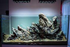 Great #Hardscape by Juan Carlos Bernal . #aquascaping #aquascape .......... PIN BY Aqua Poolokh